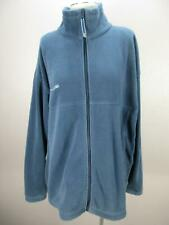 Columbia Size XXL Mens Blue Full Zip Side Pockets Outerwear Fleece Jacket 232