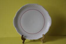 Eschenbach Porzellan La Reine Form 800 Rote Punkte Kuchenplatte Platte 26,5 cm