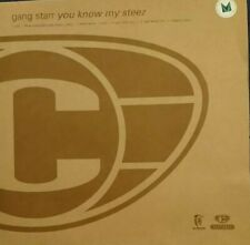 "Gang Starr - You know my steez 12"" Promo Cooltempo 1998 Ex Cond throughout"