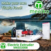 ELECTRIC EXTRUDER TO MAKE YOUR OWN TILAPIA FISH FOOD - MKED200B (FREE SHIPPING)