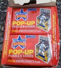 Unopened 1987 Donruss Pop-Ups Wax Box Of 36 Packs