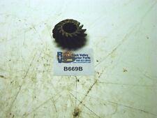 White Gear-shaft Belt Pulley B669B