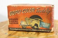 Vintage 1942 Pontiac Dupli Color Touch Up Paint Green Box Only display old car