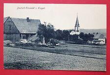 AK-allemand en Einsiedel les Monts Métallifères pour 1910 Ortsansicht avec église (27929