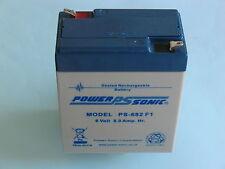 AGM Gel Akku Batterie 6V 9Ah Simson Schwalbe KR51 SR50 SR4   zzgl.7,50 € Pfand
