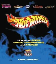 Hot Wheels 35 Years of Speed, Power, Performance, and Attitude Book (Hardcover)