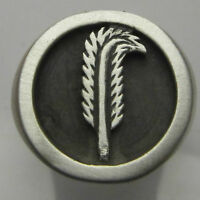 MJG STERLING SILVER ROBERT PLANT FEATHER RING. SZ 10 1/4. LED ZEPPELIN