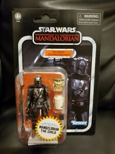 Star Wars: Vintage collection Din Djarin (The Mandalorian) VC177 with Grogu NM