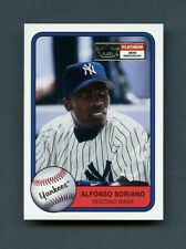 2001 Alfonso Soriano Fleer Platinum SP 20th Anniversary /201 Yankees