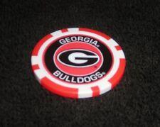 NCAA COLLEGE FOOTBALL GEORGIA BULLDOGS SOUVENIR COLLECTIBLE POKER CHIP