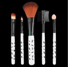 Set de brochas de maquillaje de maquillaje multicolor