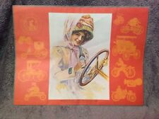 "Vintage 1920s Coca Cola Placemat ""When Dusters Were in Vogue"""
