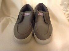 Converse Boat Shoes Charcoal Canvas - Size Men's 8, Women's 9.5