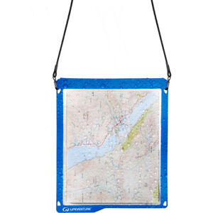 Lifeventure Hydroseal Angler Fishing Map Case Blue - One Size