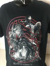 MORTAL COMBAT X Tshirt Graphic Video Game Series Warner Brothers Sz L