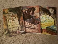 Scary Stories to Tell in the Dark (3 book set)