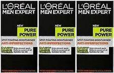 3 x Loreal Men Expert Pure Power Anti-Spot Active Moisturiser 50ml EACH