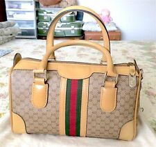 Authentic Gucci Boston Doctor Purse With Dust Bag