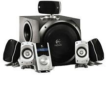 """Logitech Z-5500 THX-certified 5.1 Computer Speakers w/ 10"""" Subwoofer, 1010W Peak"""