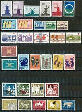 Nederland jaargangen 1963 - 1964 ongebruikt; koopje!