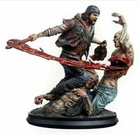 "Days Gone Deacon vs Freakers Polystone Statue Figure 14.5"" Level52 Bend Studios"