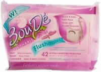 BouDe Flushable Wipes Refill Pack 42 Count Each