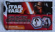 New Star Wars The Force Awakens Topps Galactic Connexions Trading Discs & Game