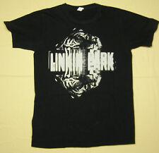 Linkin Park Concert Tour Black and White Tiger T-Shirt black size S