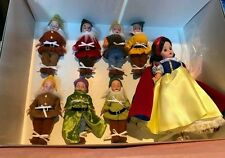 "RARE MADAME ALEXANDER 10"" SNOW WHITE & SEVEN DWARVES DOLL SET #35520 NEW IN BOX"