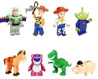 Toy Story Bazleiter Woody Jessie Horse Dragon Pig Piggy Bank Building Blocks New