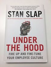 Under the Hood by Stan Slap Hardcover Dust Jacket Good Condition