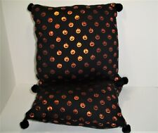 Halloween Decoration, 2 Pumpkin Pillows, Handmade, Home Decor, Home & Living, Fa