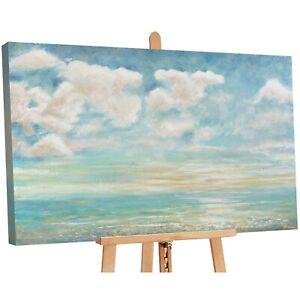 100% Handgemalt Acryl Gemälde handgemaltes Wand Bild Kunst Leinwand Leichtigkeit