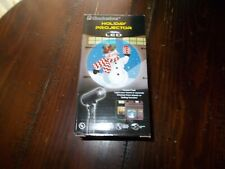 Ez Illuminations Led Holiday Christmas Snowman Projector New in Box