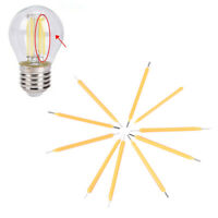 10X Super Bright COB LED Solar Filament Bulb Candle Light Home Lamp Source YK