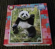 PuzzleBug Happy Giant Panda Jigsaw Puzzle 100 Piece Cra-Z-Art New Sealed Box