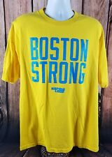 Boston Strong Boston Marathon USA Made XXL T-Shirt by Karma Loop 100% Cotton