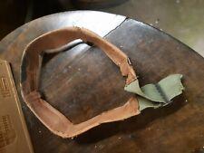 WW2  sweetband serre-tête  en cuir pour liner - sous casque americain us M1