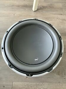 JL Audio 12W6v2-D4 12 inch Car Subwoofer Driver - Great Condition