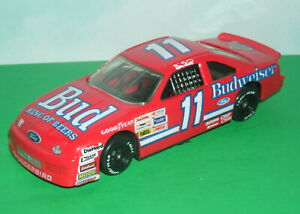 1/43 Scale Ford Thunderbird BUD Stock Car Diecast Model NASCAR Bill Elliot #11