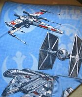 Northwest Plush Star Wars Ships Tie Fighter Millennium Falcon X Wing Boy Blanket