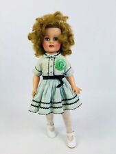 """1950s 15"""" Ideal ST-15 N Shirley Temple Doll in dress w/ shoes"""
