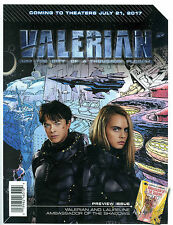 x2 Valerian and the City of a Thousand Planets Preview Issue (LOT OF 2) 24 pages