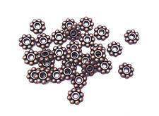 Antique Copper Plated 4.5mm Daisy Heishi Spacer Bead Findings • Q50• 66288
