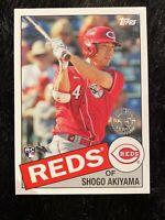 2020 TOPPS UPDATE SHOGO AKIYAMA REDS ROOKIE CARD 35 th ANNIVERSARY 85TB-4