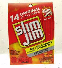 Slim Jim Slim Jim's ~ American Snack Food Original ~ 14 count Box