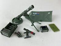 Vintage GI Joe Forward Observer Unit Mortar Cobra Hasbro 1988 Almost Complete