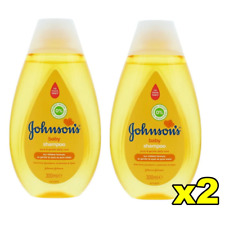 2x Johnsons Baby Shampoo 300ml No More Tears Pure and Gentle Daily Care