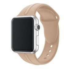 Apple Watch Series 5/4/3/2/1 Armband 38/40mm Sport Silikon Ersatz Band Beige