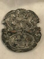 1914 WWI Allies Medallion, Depicting Leaders of France, Russia, England, Belgium
